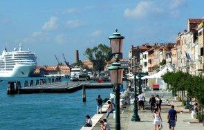 венеция забранява круизните кораби историческия център