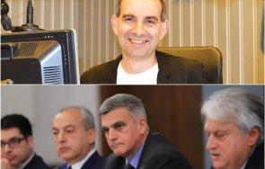 журналистът петър волгин размаха пръст феновете служебното правителство радев сутиени почнали хвърлят министрите