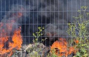 пожар избухна близо околовръстното софия снимки