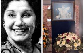 последно сбогом десетки изпратиха голямата актриса виолета бахчеванова последния път снимки