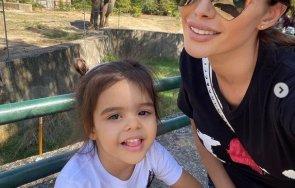 Преслава и Паола в зоо