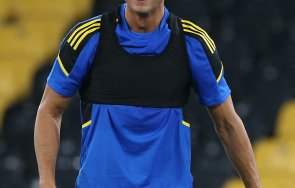 Роналдо синя фланелка Снимка Фейсбук Юнайтед