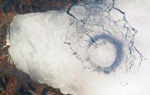 космоса разплетоха мистерията странните ледени кръгове езерото байкал