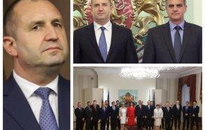 830 извънредно пик месец еднолична власт румен радев сържавата президентът назначава третото служебно правителство гледайте живо