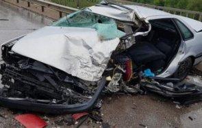 цистерна камион кола разбиха ботевградско шосе