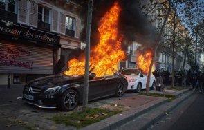 фенове подпалиха колата футболен рефер