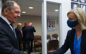 Сергей Лавров се срещна с новия външен министър на Великобритания (ВИДЕО)