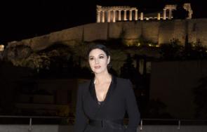 организираха вечеря чест моника белучи музея акропола