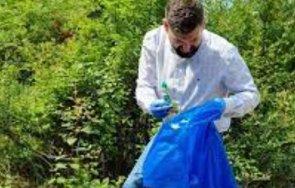десетки доброволци включиха почистване градината центъра благоевград