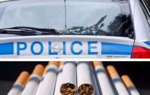 акция заловиха 3900 кутии нелегални цигари без бандерол