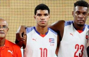 кубински волейболист избяга хотела отбора софия гранична полиция задържа