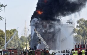 пожар нефтен завод ливан