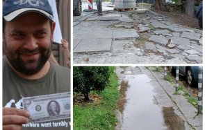 дебъ прокобата застигна баровския лозенец кмет христо иванов опропасти квартала снимки