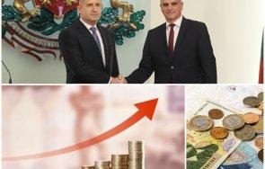 ефектът кабинета радев инфлацията удари годишен рекорд