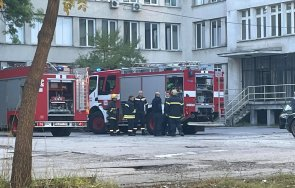 извънредно пик голям пожар горя пета градска болница софия огънят обхванал ковид отделението видео снимки