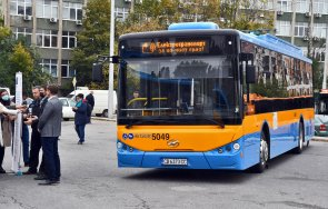 еко транспорт електробуса тръгнаха софия снимки