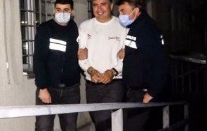 саакашвили гладува ден европейски политици призоваха освободен