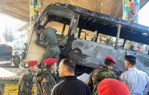 атентат бомбена атака дамаск военни убити