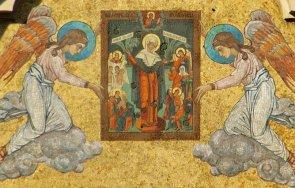 църковният неделя сутринта мистичен ден чудотворна икона света богородица излекувала тежко болната сестра патриарха българските храмове извършва специ