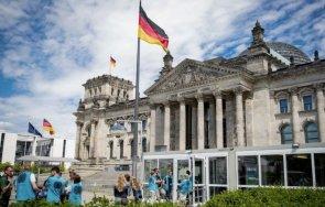 германската полиция усили охраната бундестага щурма капитолия