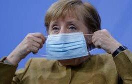 меркел обяви локдаунът германия април