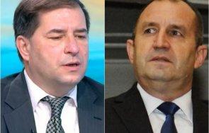борислав цеков критика радев консултациите доведат реални резултати