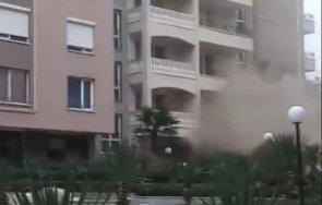 пожар лумна затворения комплекс бургаския зорница видео
