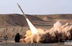 иран изстреля ракети индийския океан