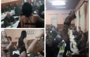 скандално секс корона парти авджии гуляят стриптизьорки видео