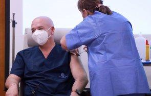първо пик ген мутафчийски медиците вма получават втора ваксина covid живо