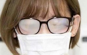 носим маска без запотяват очилата