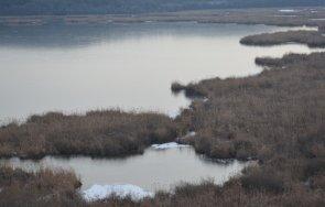езерото резервата сребърна замръзна
