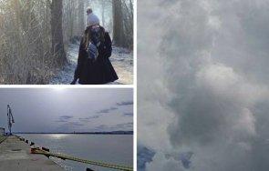 затоплянето продължава разкъсана средна висока облачност без валежи карта