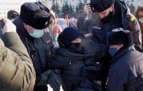 рекорд близо 3500 души арестувани русия протестите навални