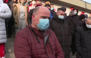 ученици боксов клуб сливен тренират улицата минусови температури