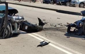ИЗВЪНРЕДНО: Катастрофа блокира пътя Велико Търново-Търговище
