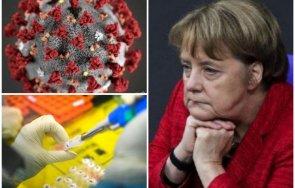тревожно меркел загуби самообладание изтървахме вируса