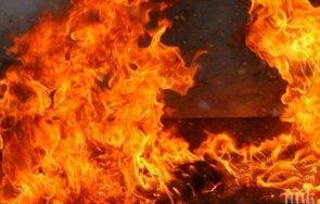 старица години изгоря пожар дома добрич