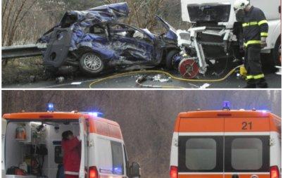 кървав курбан три трупа брутална катастрофа пътя монтана видин обновена