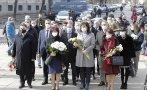 Депутатите от ГЕРБ се поклониха пред паметта на Васил Левски (СНИМКИ)