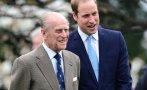 принц уилям разкри здравословното състояние дядо
