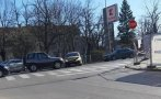 СБЛЪСЪК: Жена предизвика катастрофа във Враца (СНИМКА)