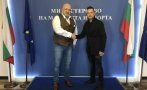 Красен Кралев се срещна с европейския шампион Мартин Чой