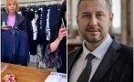 ФОТО БОМБА: Манолова си пазарува костюмчета насред София. Но защо сте без маска, уважаема госпожо (СНИМКА)