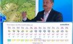 Проф. Рачев с топ прогноза за времето до края на месеца - африкански циклон носи много дъжд у нас, в планините ще трупа сняг