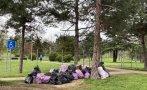 ямбол изчистиха лесопарк боровец боклуци десетки доброволци пуснаха акцията