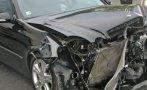 МЕЛЕ НА ПЪТЯ: Четирима в болница след челен удар между Шевролет и Фиат край Поликраище