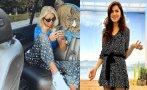 Гущерова примамва Андреа Банда Банда с леопардова пижама (СНИМКА)