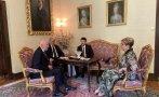 Симеон Сакскобургготски и посланикът на Русия обсъждаха на среща тесните връзки между двата народа