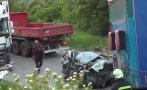 Арестуваха шофьора на камион, предизвикал катастрофата с четири жертви на пътя Видин-Монтана